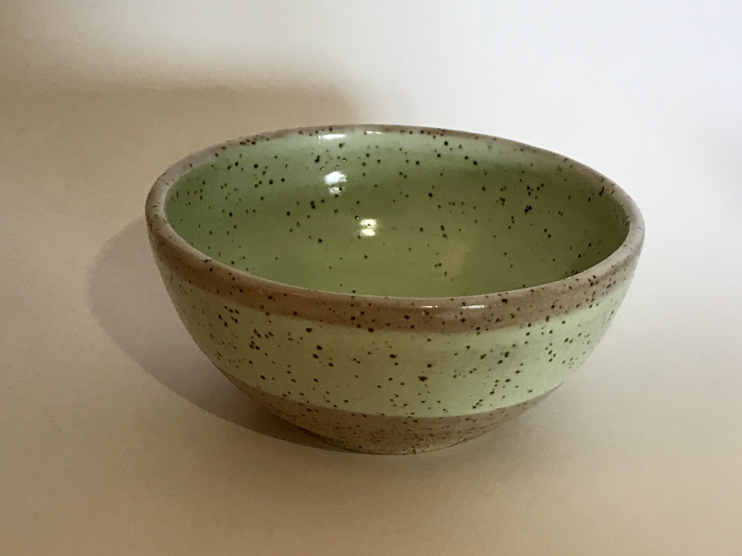 medium green bowl