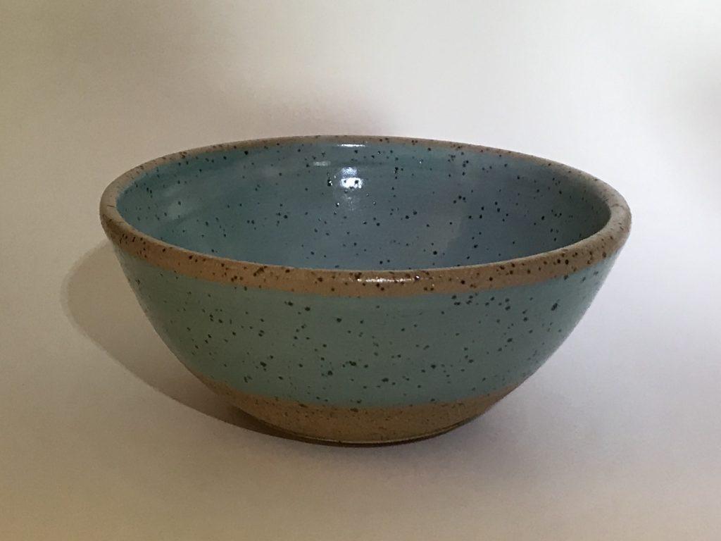 half celadon bowl
